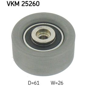 Deflection / Guide Pulley, timing belt Article № VKM 25260 £ 140,00