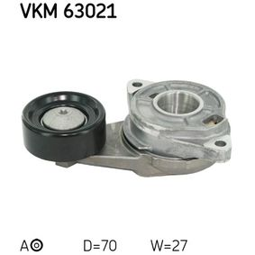 Polea tensora, correa poli V VKM 63021 CIVIC 8 Hatchback (FN, FK) 1.4 (FK1, FN4) ac 2017