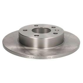 Bremsscheibe Bremsscheibendicke: 10mm, Lochanzahl: 5, Ø: 264mm mit OEM-Nummer 91 17772