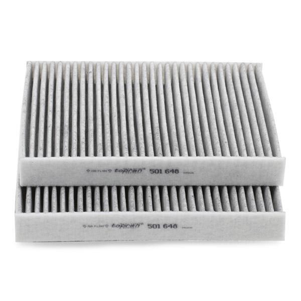 Filtro de aire acondicionado TOPRAN 501648 conocimiento experto