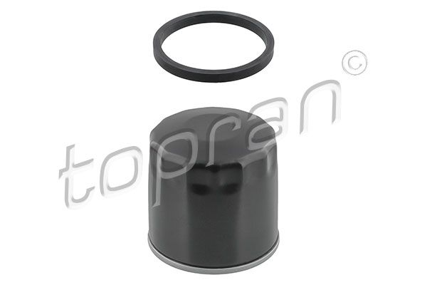 TOPRAN  501 072 Ölfilter Ø: 78mm, Höhe: 89mm