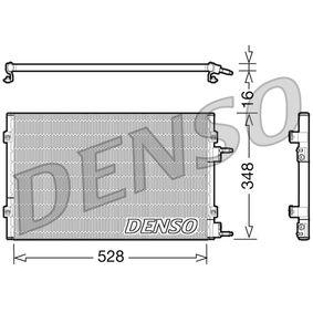Kondensator, Klimaanlage Kältemittel: R 134a mit OEM-Nummer 5 093 598 AA