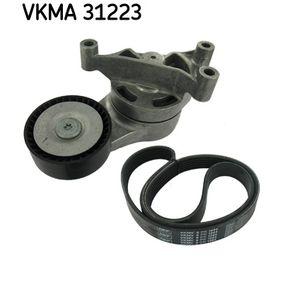 Passat B6 2.0FSI Keilrippenriemensatz SKF VKMA 31223 (2.0 FSI Benzin 2008 CBFA)