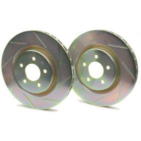 Hochleistungs-Bremsscheibe mit OEM-Nummer JZW698302CB