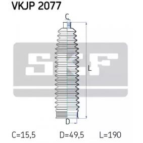 Bellow Set, steering VKJP 2077 SCIROCCO (137, 138) 2.0 TDI MY 2013