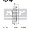 Guardapolvo de dirección VW Golf 5 (1K1) 2007 Año VKN401 SKF Termoplástico