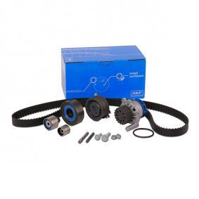 Water pump and timing belt kit with OEM Number YM21 8A663 AA