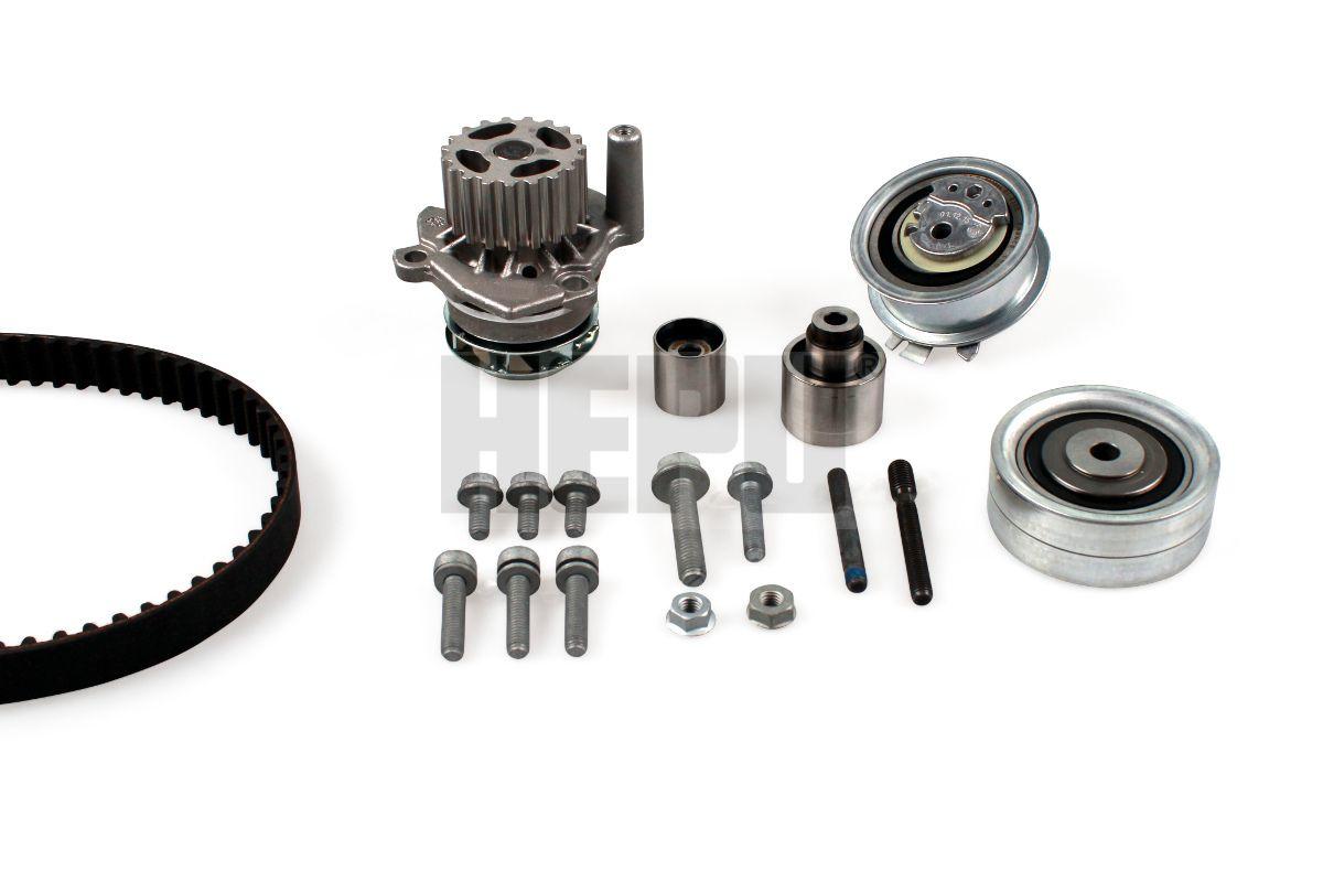 HEPU  PK06551 Water pump and timing belt kit Width: 25mm