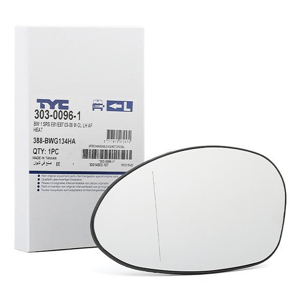 Außenspiegelglas 303-0096-1 TYC 303-0096-1 in Original Qualität