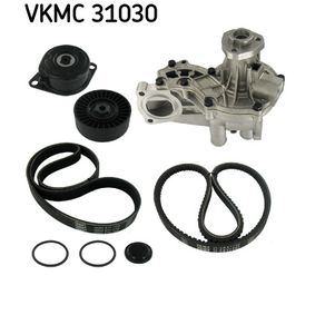 SKF Bomba de agua + kit de correa poli V VKMC 31030 con OEM número 028145271L