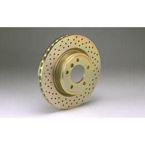 Hochleistungs-Bremsscheibe mit OEM-Nummer 6QD 615 601