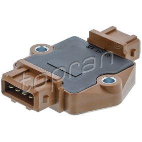 TOPRAN Schaltgerät, Zündanlage 109 881 für AUDI 80 (8C, B4) 2.8 quattro ab Baujahr 09.1991, 174 PS