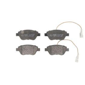 Bremsbelagsatz, Scheibenbremse Höhe: 53,3mm, Dicke/Stärke: 17mm mit OEM-Nummer 4254.C8