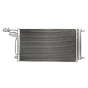 Kondensator, Klimaanlage mit OEM-Nummer 6R0820411D