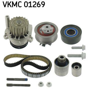 Kit Distribuzione e Pompa Acqua VKMC 01269 SKF VKPC81269 di qualità originale