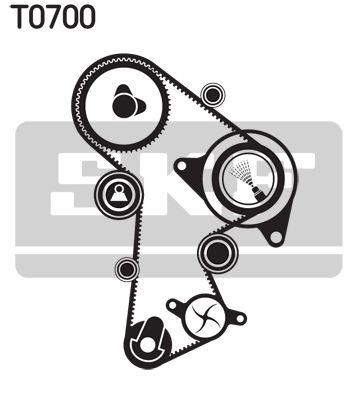 Pompa acqua e cinghia distribuzione SKF VKN1000 valutazione
