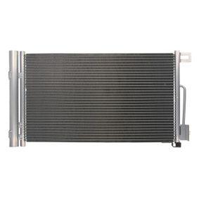 Kondensator, Klimaanlage Netzmaße: 600-355-16 mit OEM-Nummer 557 00 406