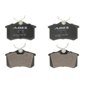ABE Bremseklodser C2W028ABE med OEM Nummer 7M0698451