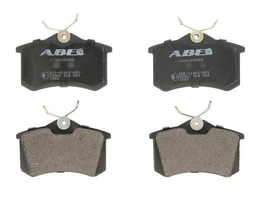 ABE  C2W028ABE Bremsbelagsatz, Scheibenbremse Breite: 87mm, Höhe: 52,9mm, Dicke/Stärke: 17mm