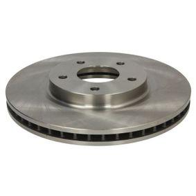 Bremsscheibe Bremsscheibendicke: 26mm, Ø: 296mm mit OEM-Nummer 40206 -JD00A