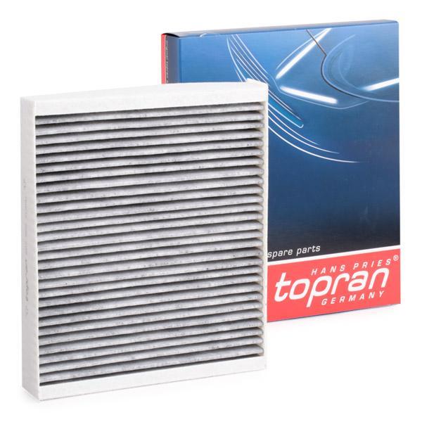 Filtro del habitáculo 207 622 TOPRAN 207 622 en calidad original
