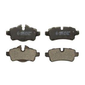 Brake Pad Set, disc brake Article № C2B023ABE £ 150,00