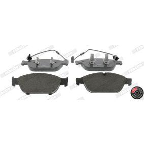 Brake Pad Set, disc brake Article № FDB4397 £ 140,00