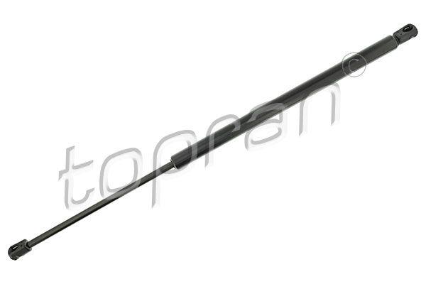TOPRAN  501 816 Heckklappendämpfer / Gasfeder Länge: 595mm, Hub: 220mm, Länge: 595mm