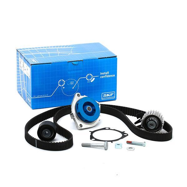 Timing belt kit and water pump VKMC 05193 SKF VKPC85101 original quality