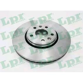 Brake Disc Brake Disc Thickness: 28mm, Rim: 5-Hole, Ø: 320mm with OEM Number 402060003R