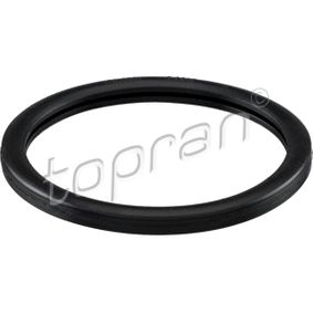 Gasket, thermostat Thickness: 4mm, NBR (nitrile butadiene rubber), Inner Diameter: 44mm, Ø: 52mm with OEM Number 44 13 817