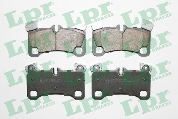 LPR  05P1655 Bremsbelagsatz, Scheibenbremse Breite: 132,1mm, Höhe: 77mm, Dicke/Stärke: 16,6mm