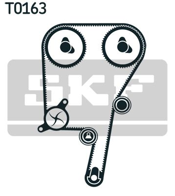 Cam Belt Kit VKMA 06038 SKF VKMT06604 original quality