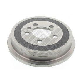 Bremstrommel Br.Tr.Durchmesser außen: 240mm mit OEM-Nummer 6QE609617