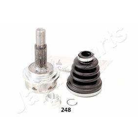 JAPANPARTS  GI-248 Gelenksatz, Antriebswelle Außenverz.Radseite: 26, Innenverz. Radseite: 20