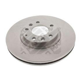 Bremsscheibe Bremsscheibendicke: 25mm, Lochanzahl: 5, Ø: 299mm mit OEM-Nummer G33Y3325X