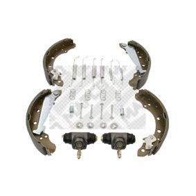 Bremsensatz, Trommelbremse mit OEM-Nummer 6R0 698 520 X