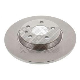 Bremsscheibe Bremsscheibendicke: 12mm, Lochanzahl: 5, Ø: 300mm mit OEM-Nummer 8K0 615 601 J
