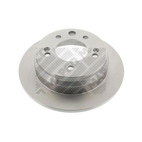 Brake Disc Brake Disc Thickness: 10mm, Num. of holes: 5, Ø: 262mm with OEM Number 58411 1H300