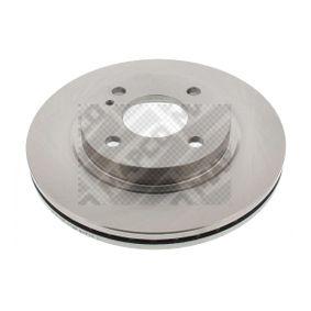 Brake Disc Brake Disc Thickness: 23mm, Num. of holes: 4, Ø: 258mm with OEM Number 8V51 1125AC