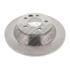 Bremsscheibe Bremsscheibendicke: 12mm, Lochanzahl: 5, Ø: 302mm mit OEM-Nummer 3 076 905 8