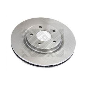 Bremsscheibe Bremsscheibendicke: 26mm, Lochanzahl: 5, Ø: 296mm mit OEM-Nummer 40206JD00B