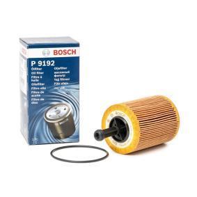 BOSCH Ölfilter 1 457 429 192 für AUDI A3 (8P1) 1.9 TDI ab Baujahr 05.2003, 105 PS