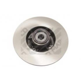 Bremsscheibe Bremsscheibendicke: 8mm, Lochanzahl: 4, Ø: 240mm mit OEM-Nummer 82 00 038 305