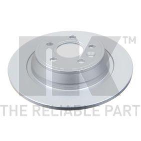 Bremsscheibe Bremsscheibendicke: 11mm, Felge: 5-loch, Ø: 302mm mit OEM-Nummer LR027123