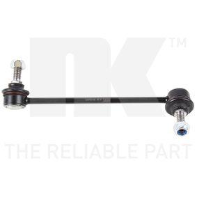 Rod / Strut, stabiliser Length: 198mm with OEM Number 54830-1C100