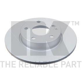 Bremsscheibe Bremsscheibendicke: 12,20mm, Felge: 5,00-loch, Ø: 276mm mit OEM-Nummer A1694210012