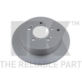 Bremsscheibe Bremsscheibendicke: 10,00mm, Felge: 5,00-loch, Ø: 284mm mit OEM-Nummer 58411 3A300
