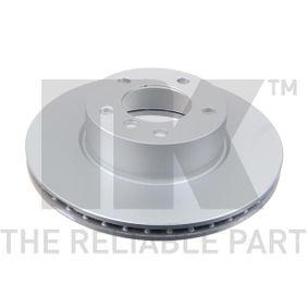 Bremsscheibe Bremsscheibendicke: 24mm, Felge: 5-loch, Ø: 300mm mit OEM-Nummer 34.11.6.854.998