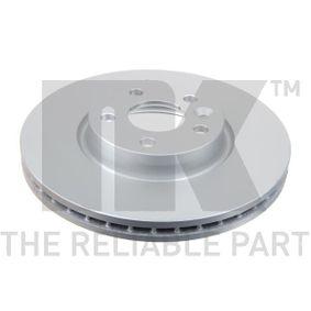 Bremsscheibe Bremsscheibendicke: 28mm, Felge: 5-loch, Ø: 300mm mit OEM-Nummer 7G91-1125BA